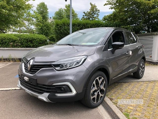 Photo Renault Captur 2019 TCe 130 INTENS 2 Gris Cassiopée / Toit Noir